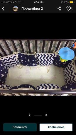 Продам бортики на детскую кровать