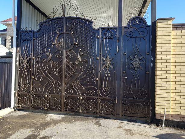 Изготовление ворота, решетки, двери