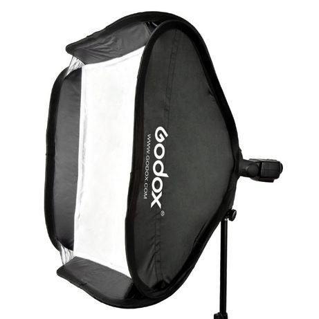 Softbox portabil Godox cu bracket s-type Bowens pt flash 40cm 60cm 80c