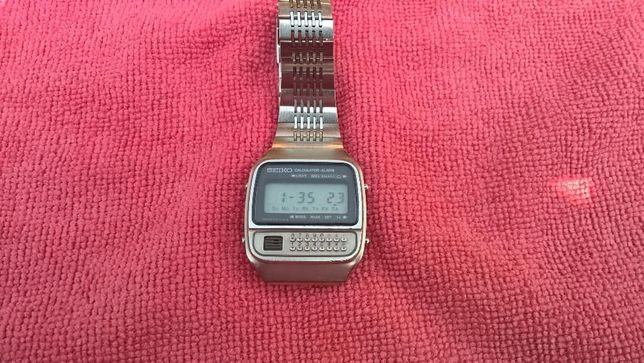 Seiko Calculator Alarm LCD Vintage de Colectie