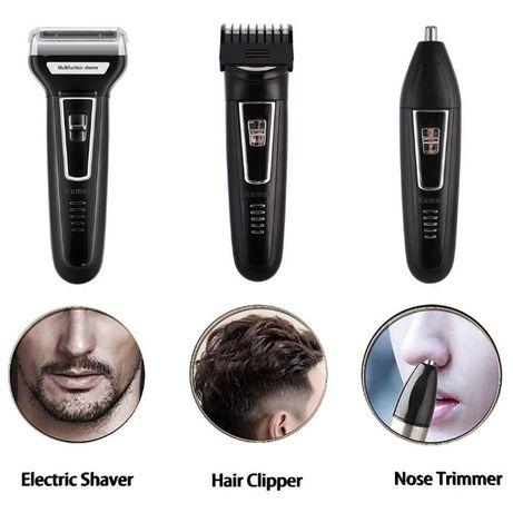 ТОП Машинка за Подстригване Бръснене брада тример за нос и уши