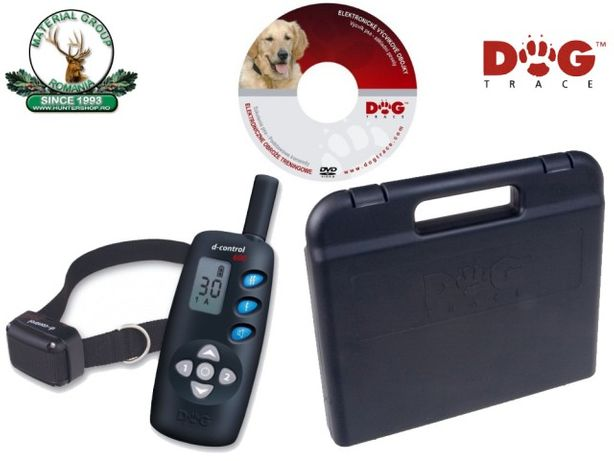DogTrace d-control 600, Zgarda electronica pentru dresaj, 600 m
