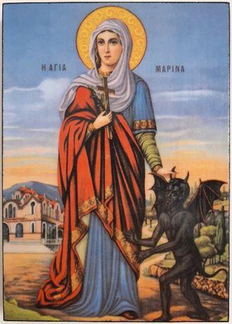 Икона на Света Марина ikona sveta marina