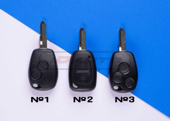 Кутийка за ключ Opel / Renault / Dacia /  Nissan автоключ с чип