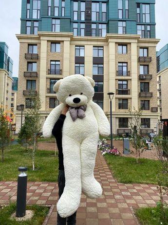Плюшевые большие мишки медведи (новые) 200 см с бесплатной доставкой