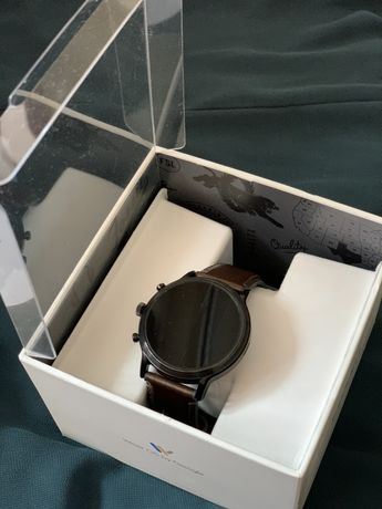 Fossil Gen 5 Carlyle Touchscreen Smartwatch, 44mm Dark Brown Band FTW4