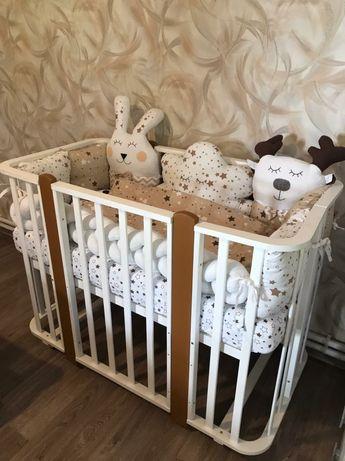 Бесыки,детские кроватки ,растущие стульчики