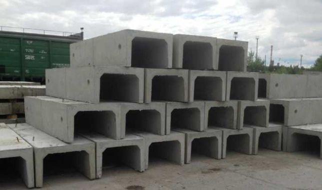 Продажа железобетонных дорожных плит и лотков (плиты и лотки)
