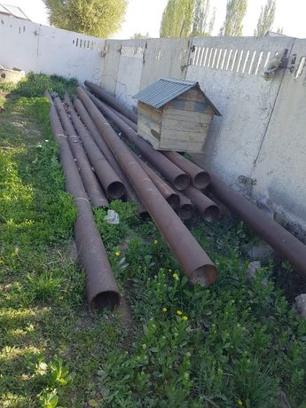 Трубы металлические 220 дм 12 мм толщина