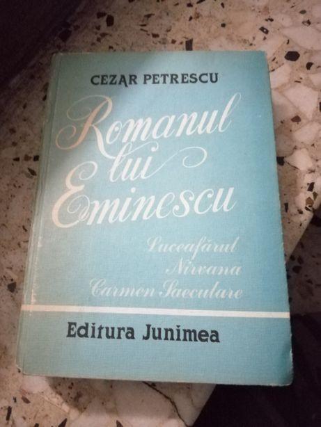 Vând carte romanul lui eminescu