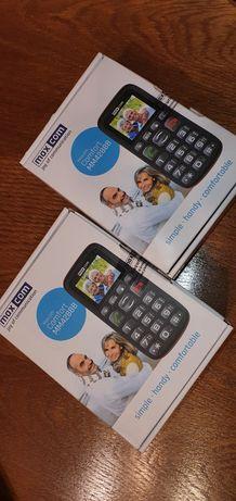 Maxcom Comfort MM428BB, 2 telefoane