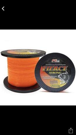 Fir FL Fierce Strong Orange Portocaliu nylon guta 1200 metri