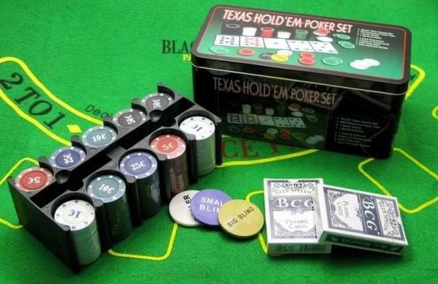 Купи набор для покера 200 фишек