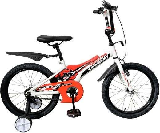 Детский велосипед Torrent Vector 18 Белый-оранжевый