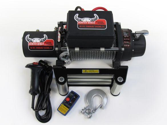 Лебедка Hunter Winch P12000 12V 12000lbs
