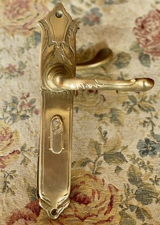 1712at Set clanta si ornamente usa Art Nouveau sfarsit de sec XIX