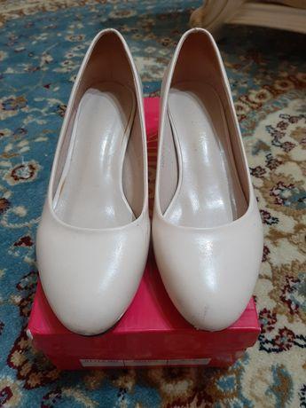 Туфля белая ак туфли