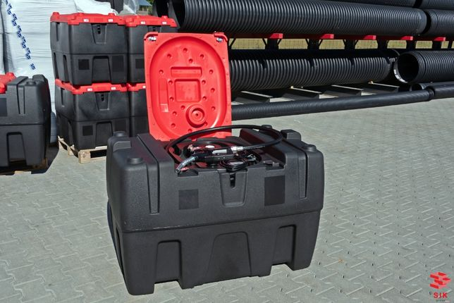 Rezervor mobil pentru combustibil/motorina cu pompa 12V/220V