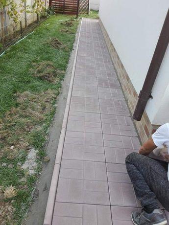 Pavaje Pavele Borduri Dale Asiguram Montaj Transport Nisip Ciment