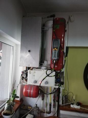 Dezmembrez 2 centrale junkers Bosch cu boiler incorporat
