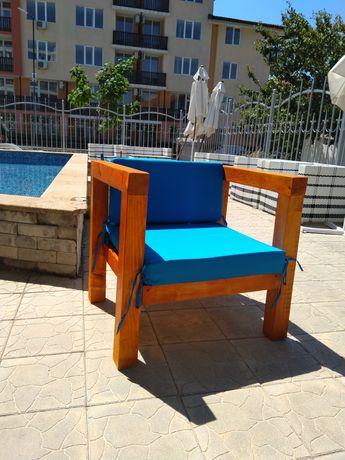 Градински мебели по поръчка. Стойка за хамак.