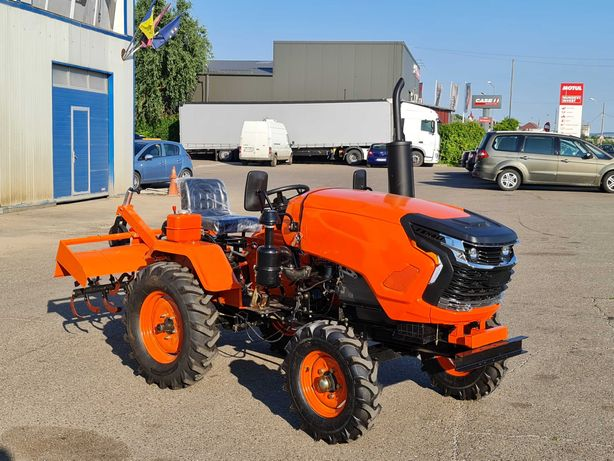 Tractor FENGLI 23 CP 4x2 dotat cu freza si plug NOU