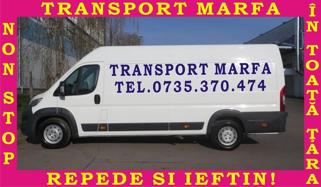 Transport marfa / mutari mobila / transport dedeman / rapid și ieftin!