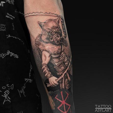 Татуировки в Темиртау
