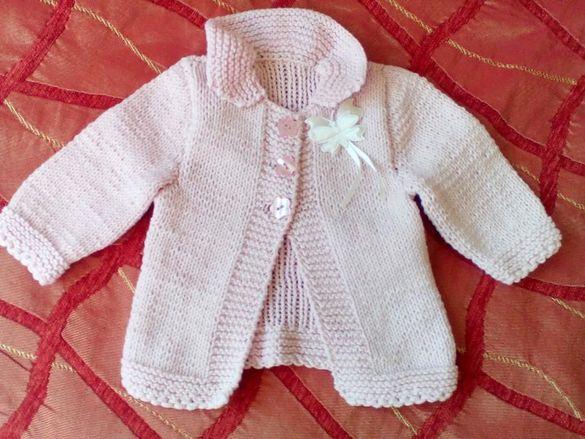 Детско палтенце 1-2 м., ръчна изработка