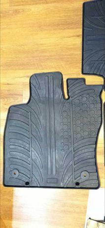 Гумени стелки Gledring за VW Passat след 2014 година 4 части черни