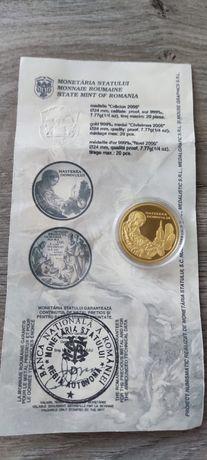 Medalie/moneda din aur
