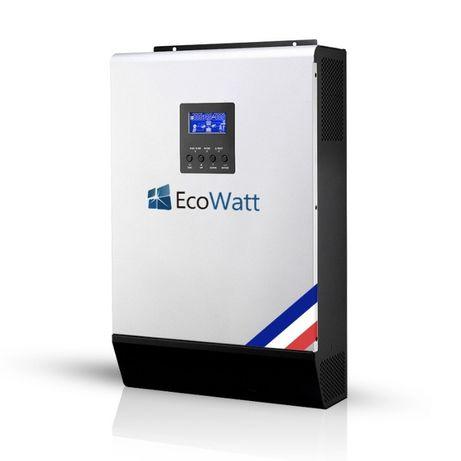 Invertor Solar Hibrid 12V - 1kw + Regulator PWM 50A EcoWatt - Franta