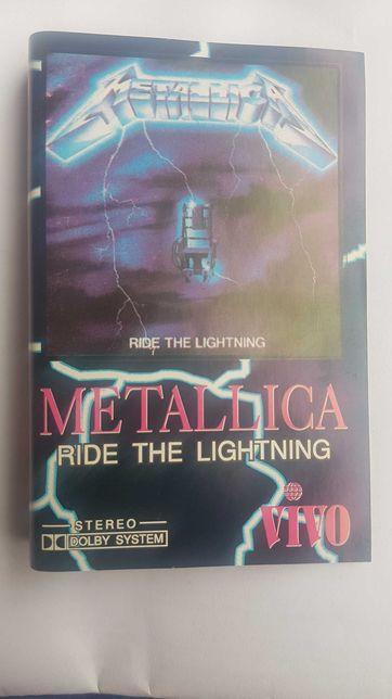 Metallica - Ride the Lighthning , caseta album