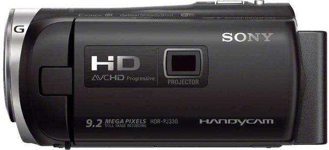 sony hdr-pj330 camera video cu proiector