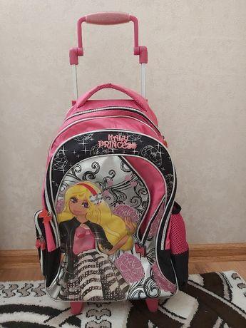 "Рюкзак на колесиках для девочки ""Барби"""