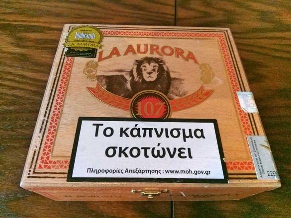 Много Рядка Колекционерска Дървена Кутия От Цигари,Пури