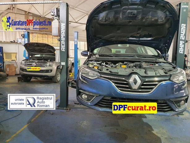 Curatare filtre de particule DPF / Catalizatoare