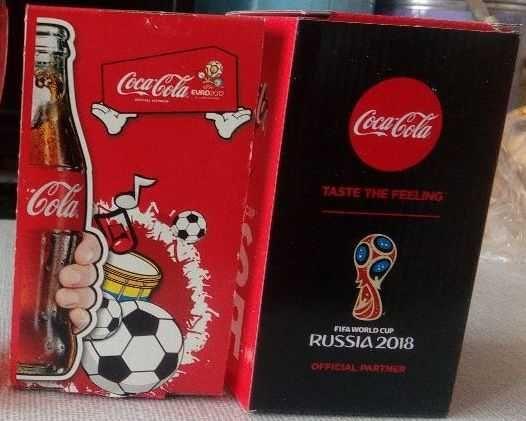 Различни сувенири на Кока Кола - чаши, шапки, ключодържатели, гривни