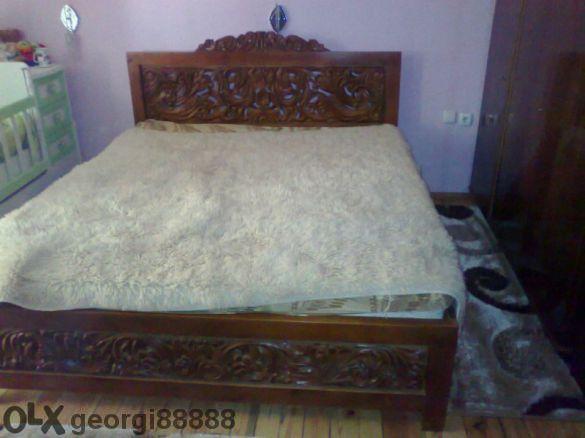 Двойна спалня с дърворезба,масив, ажур
