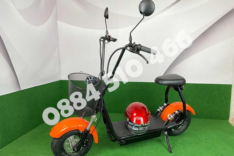 Електрически скутер Харли Harli 1200W+ аксесоари, каска и 1 г гаранция