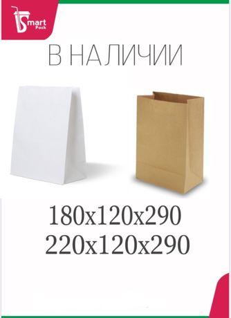 Крафт пакет без ручки