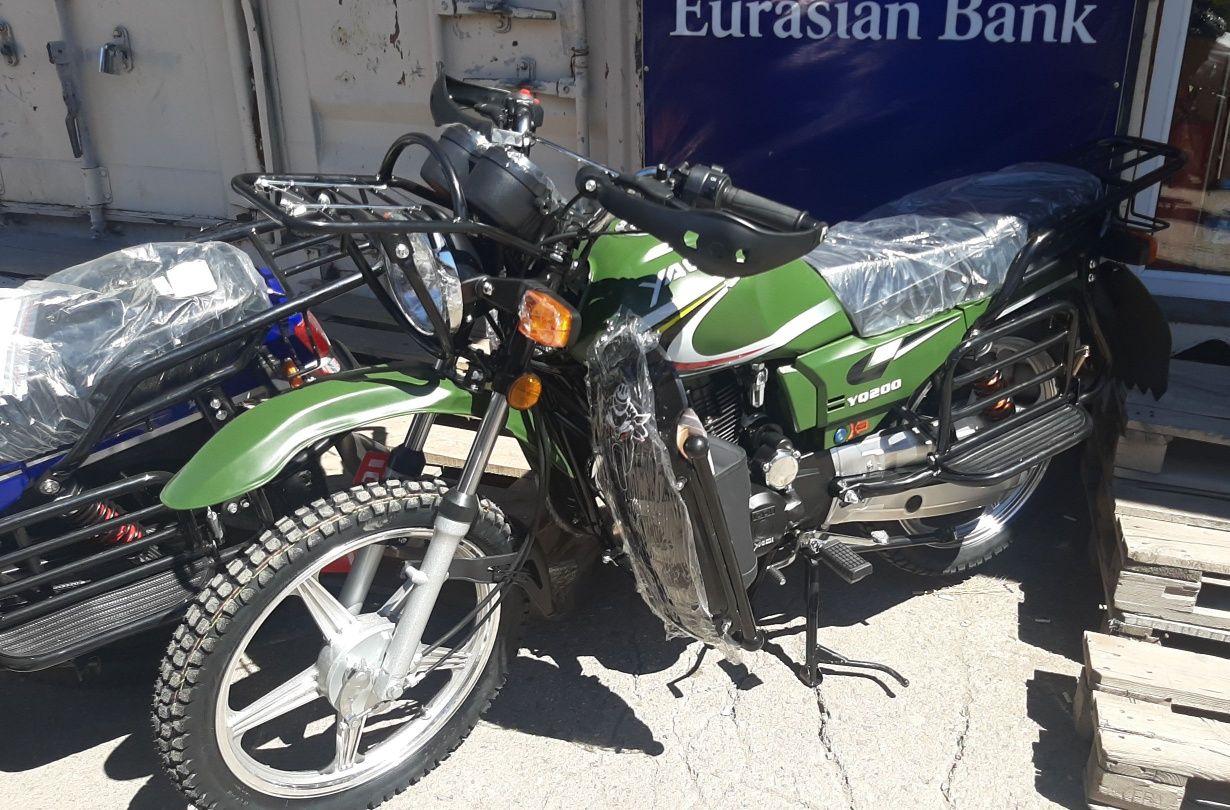 Мотоциклы Yaqi 200куб новые