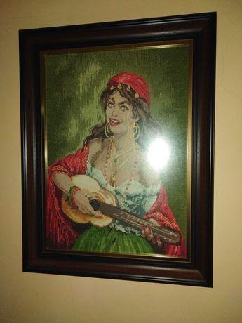 Гоблен циганската с китара