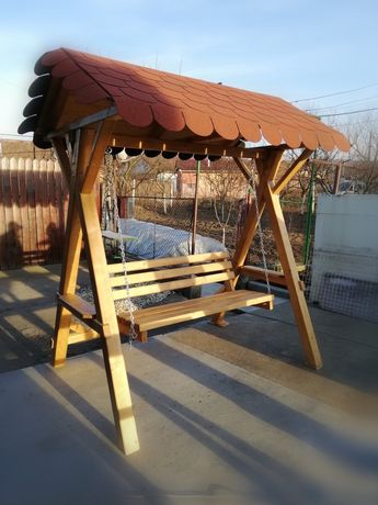 Balansoar lemn masiv