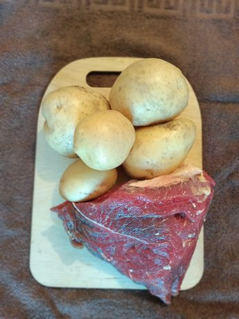 Продам домашнюю картошку. Цена 160 тенге. п.Петропавловка