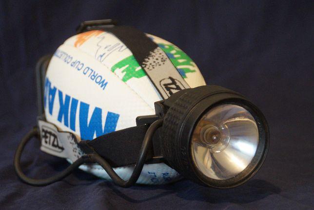 Lanterna frontala PETZL - old school, de colectie, veche, vintage