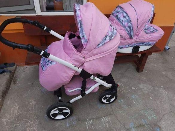 Бебешка количка Nancy 2 в 1