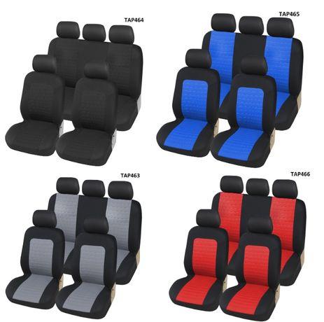 Универсална Авто тапицерия Kалъфи Авто Седалки Пълен Комплект 9 Части