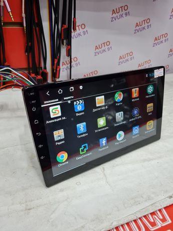 """Магнитола 1дин Андроид Android 9"""" с экраном Магнитафон Универсальный"""