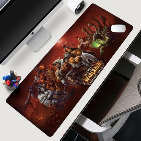 World of warcraft WOW Геймърски пад подложка за мишка gaming mousepad